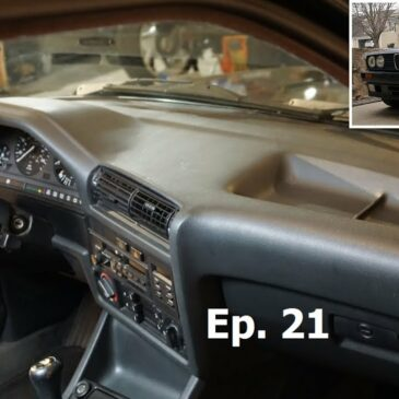 Project E30 / Ep. 21 / Dashboard Swap and Second Drive