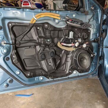 How to Replace 2010-2014 Mazda3 Front Door Speakers